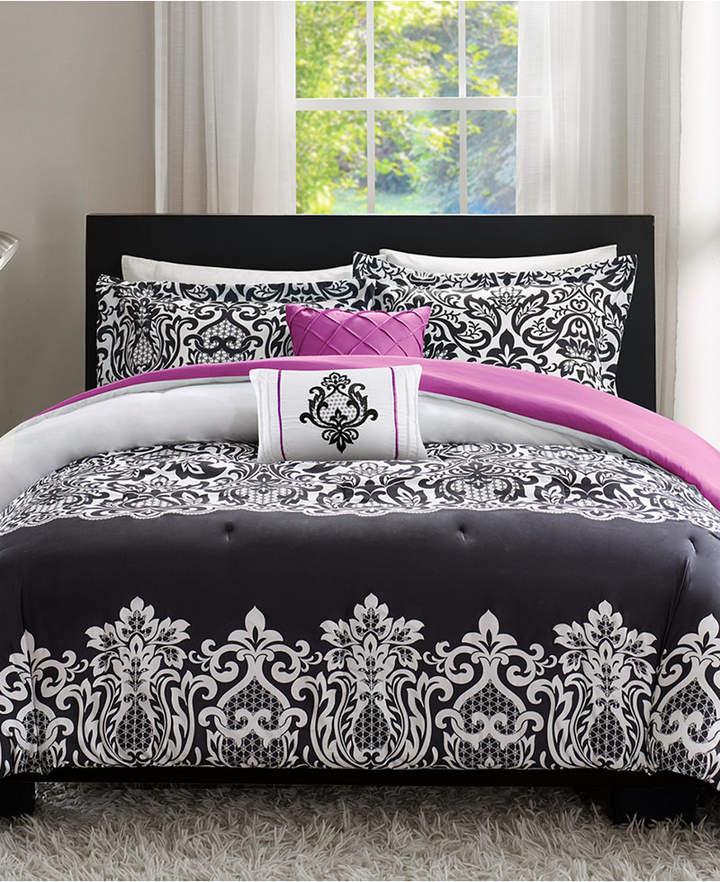 Intelligent Design Leona 4-Pc. Reversible Twin/Twin Xl Comforter Set Bedding