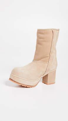 R 13 Shearling Short Boots