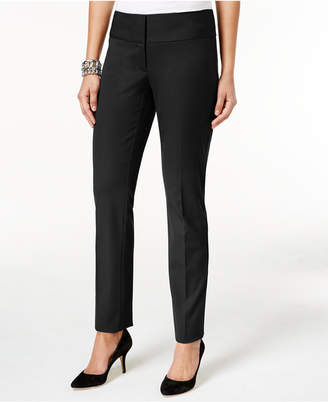 Alfani Slim Straight-Leg Pants, Only at Macy's $69.50 thestylecure.com