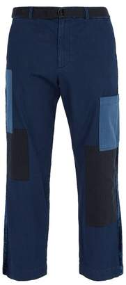 Barena Venezia - Mid Rise Cropped Cotton Trousers - Mens - Blue
