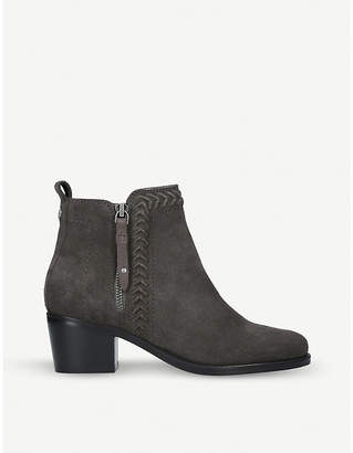 Nine West Sculpt lattice-detail ankle boots