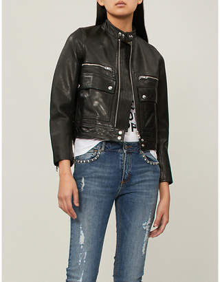 Zadig & Voltaire Love leather jacket