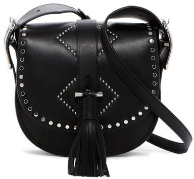 Anne Klein Kate Leather Crossbody Bag