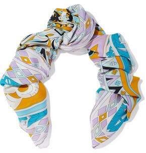 Emilio Pucci Printed Silk-Gauze Scarf