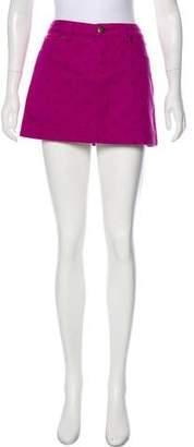 Louis Vuitton Polka Dot Denim Skirt w/ Tags