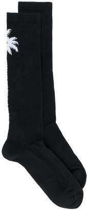 Marcelo Burlon County of Milan Palms long socks