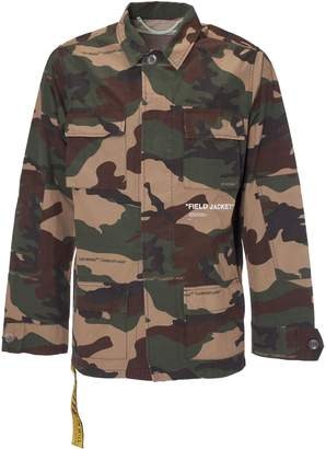 Off-White Off White Camouflage Shirt