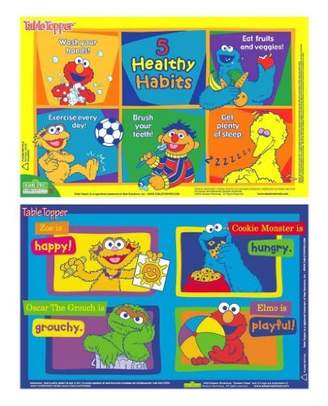 Neat Solutions Sesame Street Table Topper Placemat, 60 Count