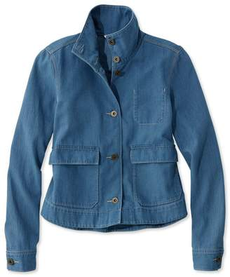 L.L. Bean L.L.Bean Signature Cropped Swing Jacket