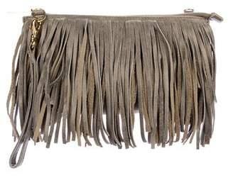 Hammitt Studded Fringe Leather Shoulder Bag