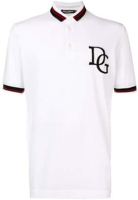 Dolce & Gabbana logo polo shirt