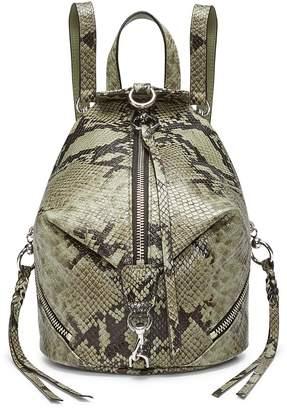 Rebecca Minkoff Julian Convertible Leather Backpack