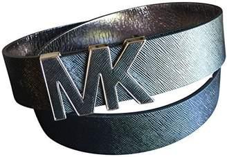 Michael Kors Women's Saffiano Leather Wide Belt