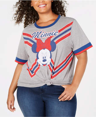 Mighty Fine Plus Size Minnie Mouse Cheer Squad T-Shirt