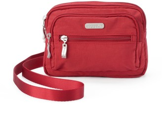 Baggallini Triple Zipper Convertible Crossbody Bag