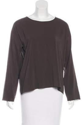 Shamask Long Sleeve Silk Top