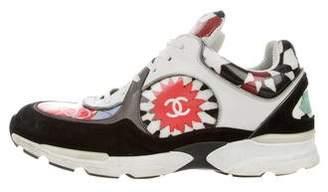 Chanel Vinyl Low-Top Sneakers