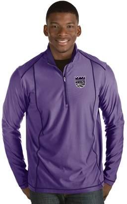 Antigua Men's Sacramento Kings Tempo Quarter-Zip Pullover