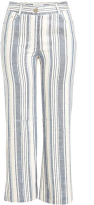 Zimmermann Striped Cropped Trousers