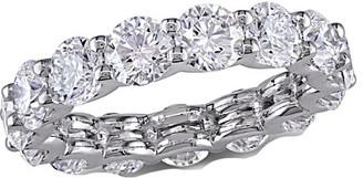 Diamond Select Cuts Certified 18K 4.60 Ct. Tw. Diamond Eternity Band
