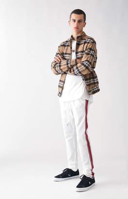 Pacsun Drop Skinny 2.0 Nylon Side Stripe Track Pants
