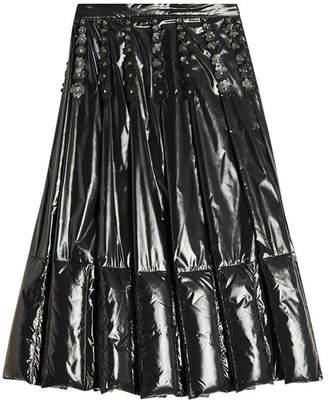 Noir Kei Ninomiya Moncler Genius 6 Moncler Embellished Down Skirt
