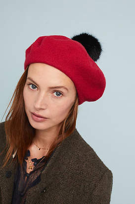 Anthropologie Helen Pommed Beret