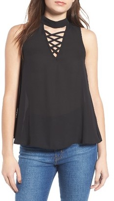 Women's Love, Fire Strappy Tank $39 thestylecure.com