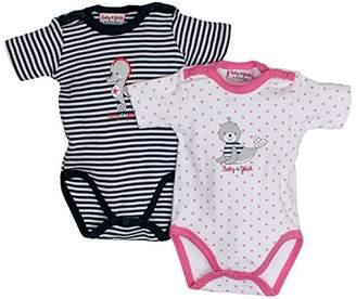 Salt&Pepper Salt and Pepper Baby Girls' BG Body Set Bodysuit