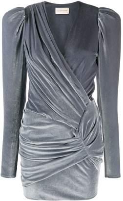 Alexandre Vauthier wrap front dress