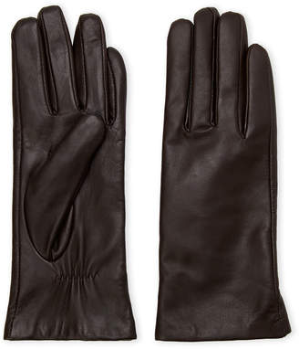 Imperial Star Leather & Cashmere-Lined Gloves