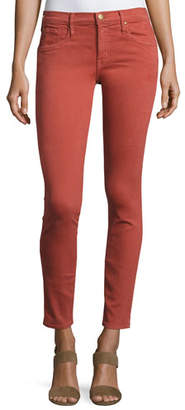 The Great The Skinny Skinny Denim Jeans, Red