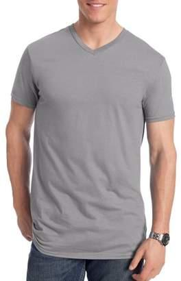 Hanes Big Men's Nano-T Short Sleeve V-neck