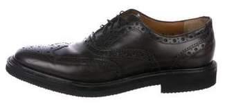 Salvatore Ferragamo Wingtip Leather Brogues