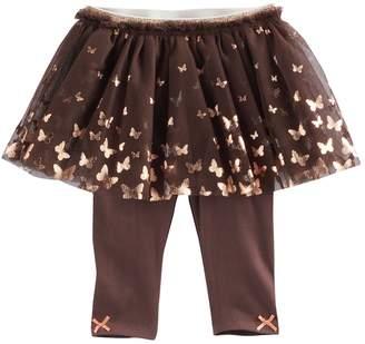 Baby Starters Baby Girl Foil Butterfly Tutu Leggings