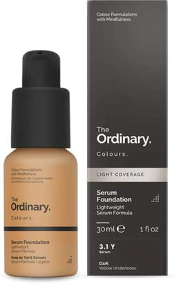 The Ordinary NEW Serum Foundation (3.1 Y) 30ml Womens Makeup