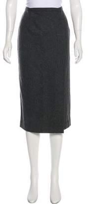 Dolce & Gabbana Midi Wrap Skirt