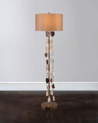 John-Richard Collection Falling Agate Floor Lamp