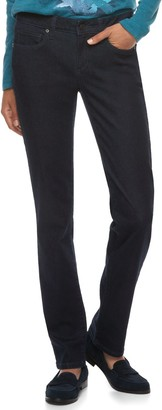 Sonoma Goods For Life Women's SONOMA Goods for Life Midrise Slim Fit Straight-Leg Jeans