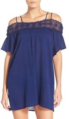 Women's La Blanca 'Island Fare' Cotton Cover-Up Slipdress $79 thestylecure.com