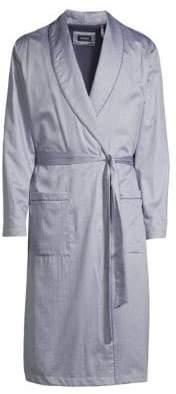 Hanro Jonas Check Robe