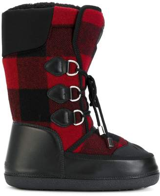 DSQUARED2 Ski checked snow boots
