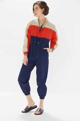 70176888e296 Urban Outfitters Copenhagen Nylon Zip-Front Jumpsuit