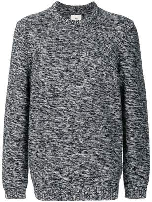 Folk irregular stripe sweater