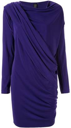 Norma Kamali draped wrap cardigan