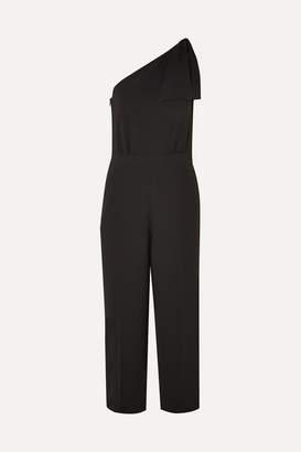 J.Crew Jackpot One-shoulder Crepe Jumpsuit - Black