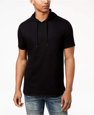 INC International Concepts I.N.C. Men's Remix Short-Sleeve Hoodie, Created for Macy's