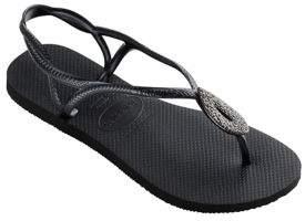 Havaianas Luna Special Metallic Rubber Sandals