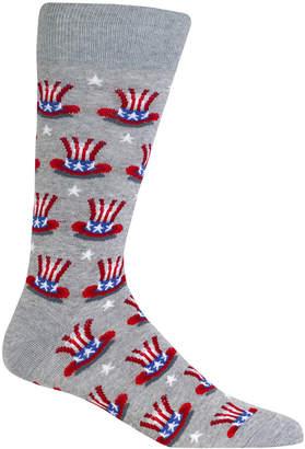 Hot Sox Men's Carnival Hat Socks