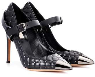 Valentino Rockstud Spike leather pumps
